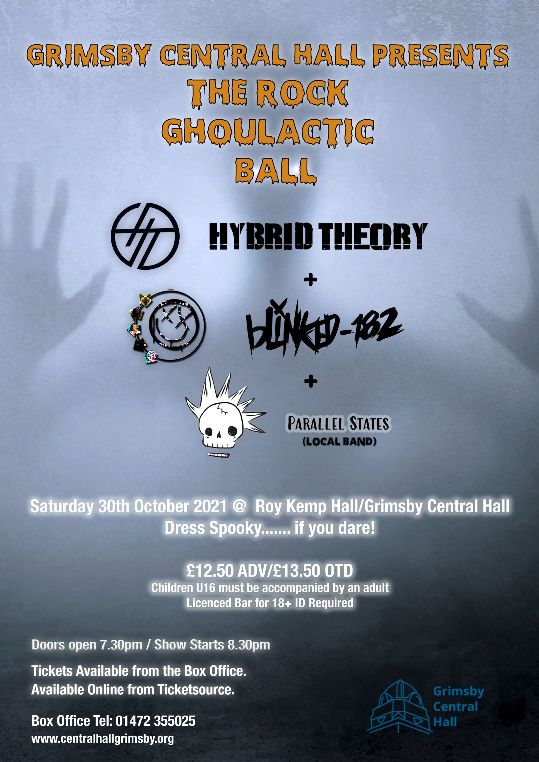 Rock Ghoulactic Ball - Hybrid Theory/Blinked 182 Plus Support