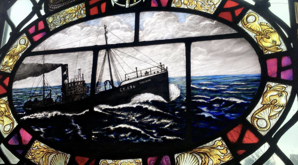 Fishermans Chapel Stained Window Grimsby Central Hall